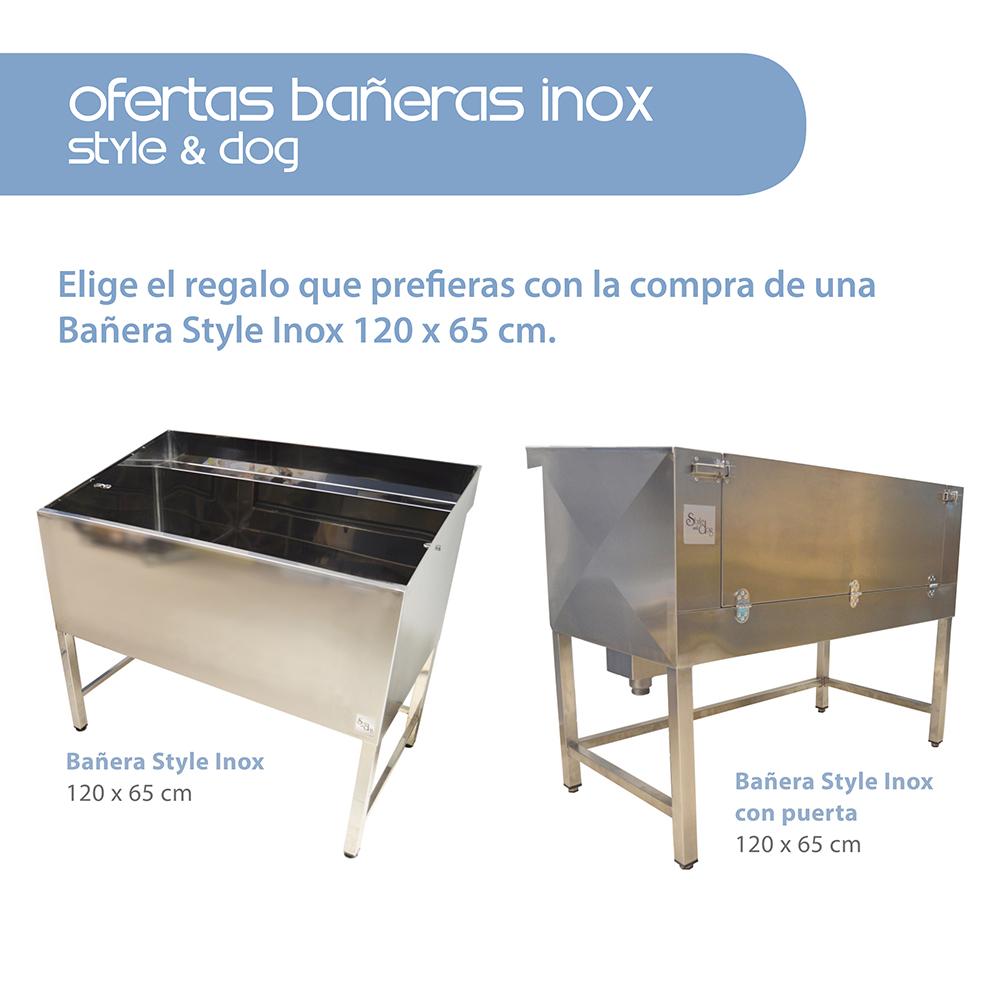 ofertas ba eras style inox 120 x 65 cm style and dog